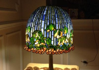 Lamp shades stained glass new york long island custom stained glass lamp shades mozeypictures Image collections