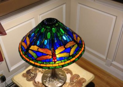 Lamp shades stained glass new york long island custom stained glass lamp shades 1 2 3 mozeypictures Image collections
